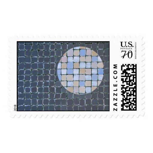 Moon Blocks Stamp