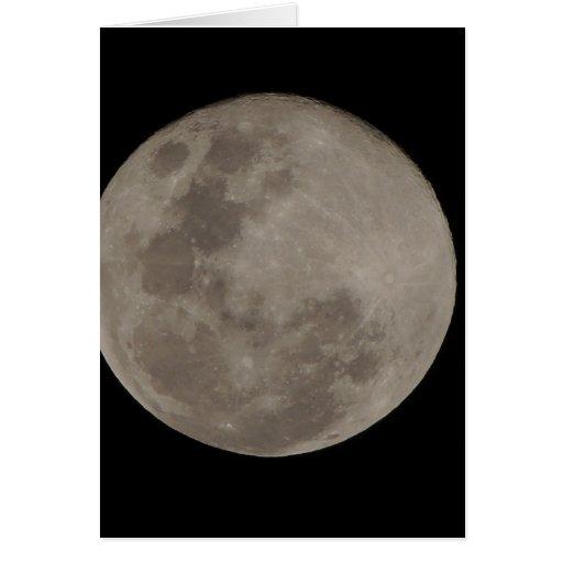 Moon Blue Moon Greeting Card