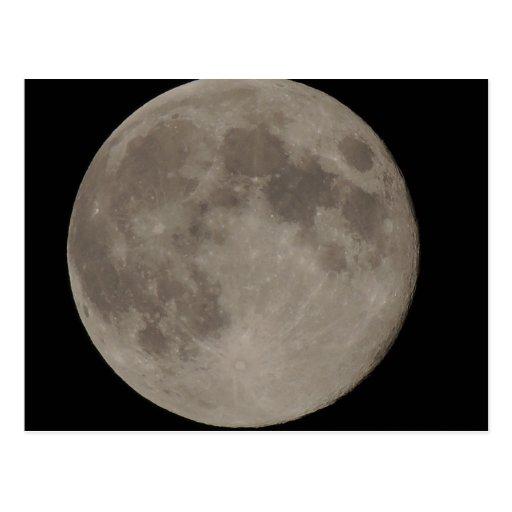 Moon Blue Moon Post Card