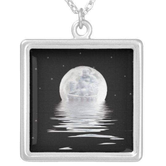 Moon Buddha Necklace