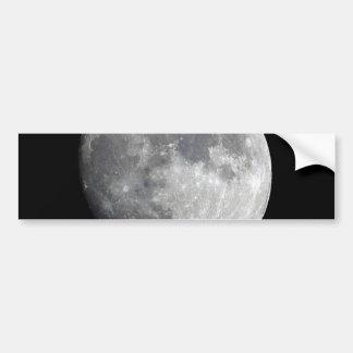 Moon Bumper Stickers