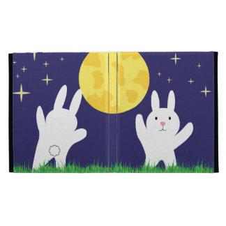Moon Bunnies iPad Folio Covers