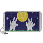Moon Bunnies Doodle Speaker
