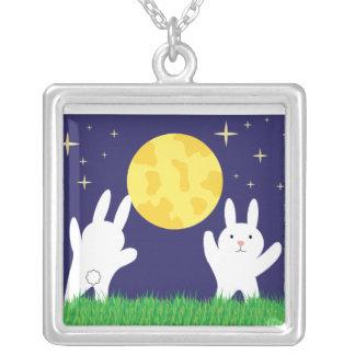 Moon Bunnies Necklace