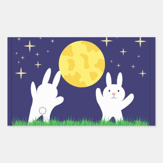 Moon Bunnies Sticker