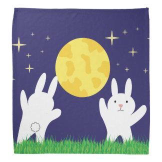 Moon Bunnies Bandana