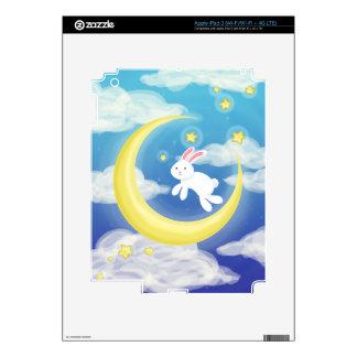 Moon Bunny Blue iPad 3 Skin