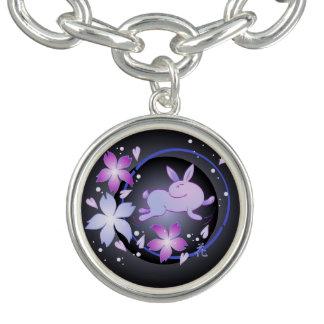 Moon Bunny Charm Bracelet Bracelets