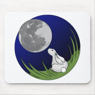 Moon Bunny Mousepad