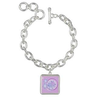 Moon Bunny (Pink) Charm Bracelet Charm Bracelet