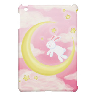 Moon Bunny Pink iPad Mini Cases