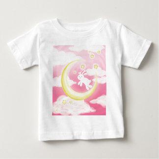 Moon Bunny Pink Tee Shirt