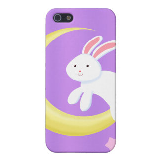 Moon Bunny Stars iPhone SE/5/5s Cover