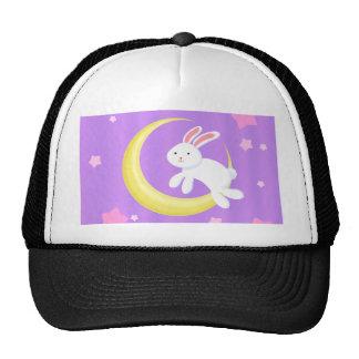 Moon Bunny Stars Trucker Hat