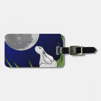 Moon Bunny Tags For Bags