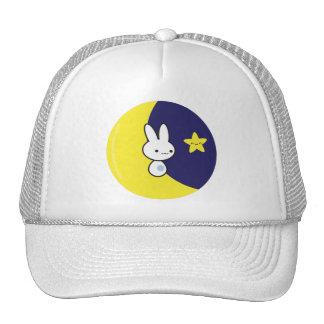 Moon Bunny Trucker Hat