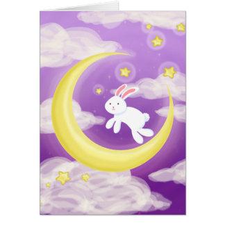 Moon Buny Purple Card