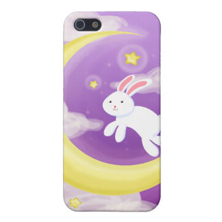 Moon Buny Purple Case For iPhone SE/5/5s