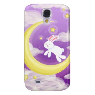 Moon Buny Purple Samsung Galaxy S4 Case