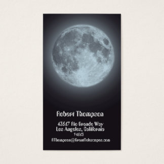 Moon Business or Personal Card