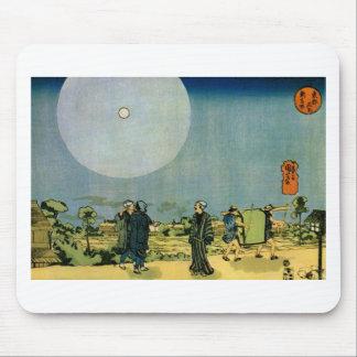 Moon by Utagawa Kuniyoshi Mouse Pad