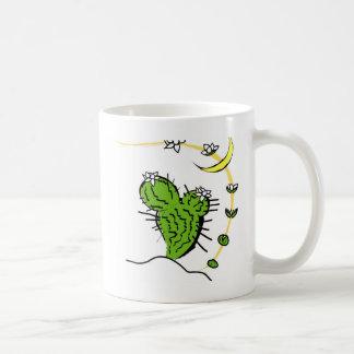 Moon cactus coffee mug