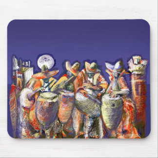 ** Moon Candombe ** Mouse Pad