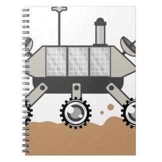 Moon Car Notebook