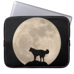 Moon Case Full Moon Lap Top Case w Husky Laptop Computer Sleeves