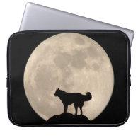 Moon Case Full Moon Lap Top Case w Husky Laptop Sleeve