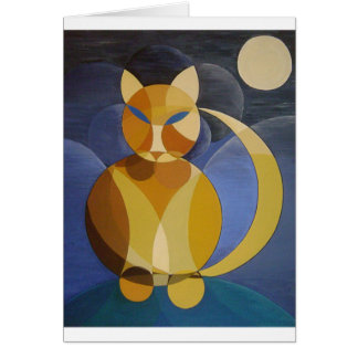Moon Cat Cards