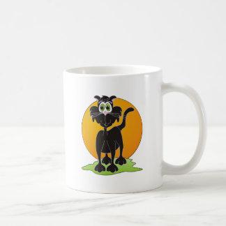Moon Cat Classic White Coffee Mug