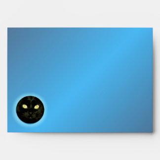 Moon Cat Halloween A7 Envelopes