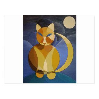 Moon Cat Postcards