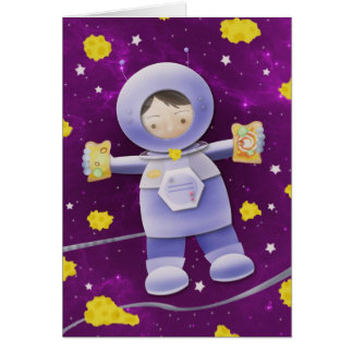 Moon cheese sandwich - greeting cards
