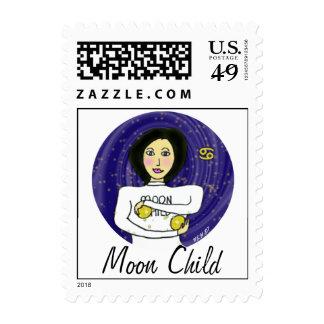 Moon Child (Cancer) Postage