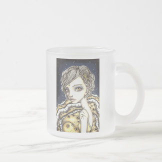 Moon Child Frosted Glass Coffee Mug