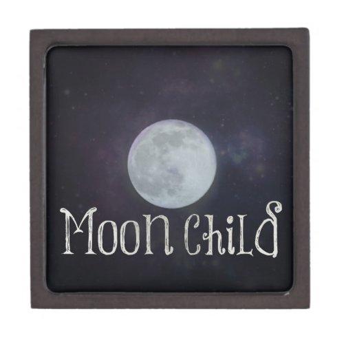 Moon Child Jewelry Box