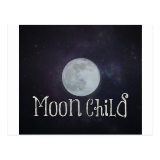 Moon Child Postcard