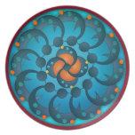Moon Circles Decorative Plate