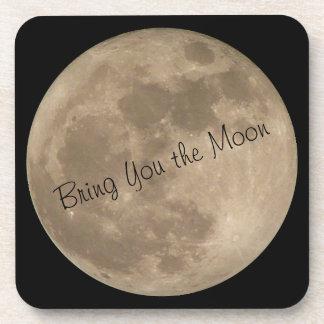 Moon Coasters Customize Full Moon Drink Coasters