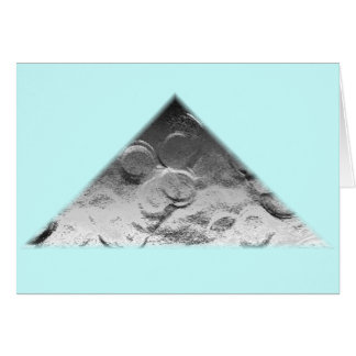 moon coins card