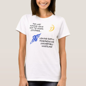 Moon Colonies T-Shirt