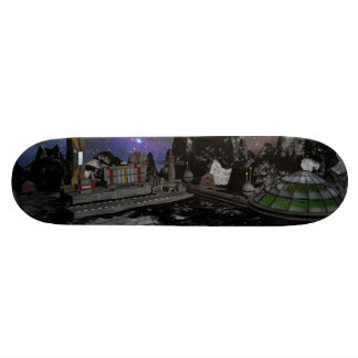 Moon Colony Skateboard Deck