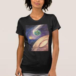 Moon, Comet, Earth, Sun T Shirt