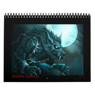 Moon Comics 2014 Calendar