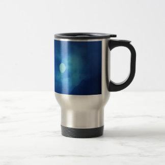 MOON covered with CLOUDS - NIGHT SKY Mug