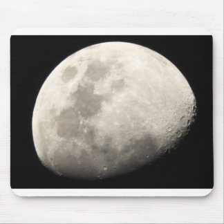 Moon craters mouse pad