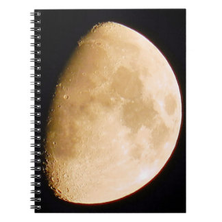 Moon Craters Notebook