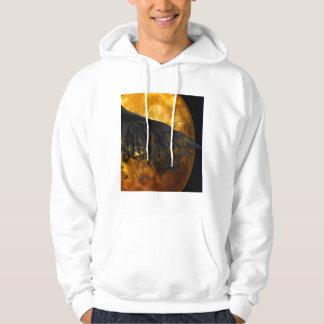 moon crow hoodie